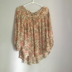 Forever 21 Contemporary Floral Print Blouse